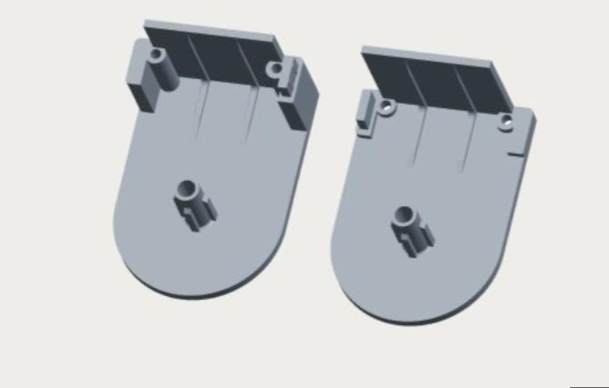 No-screw installation brackets