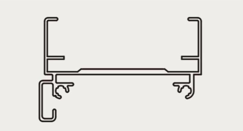 No-screw installation head rail